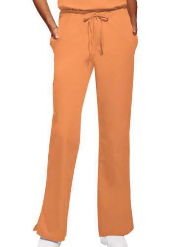 Cherokee Workwear Orange Sorbet Petite 4101P ORSW Flare Leg Scrubs Pants