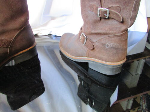 bottines Cuir West Boots Go Marron 38 Gras z8d8qxw4