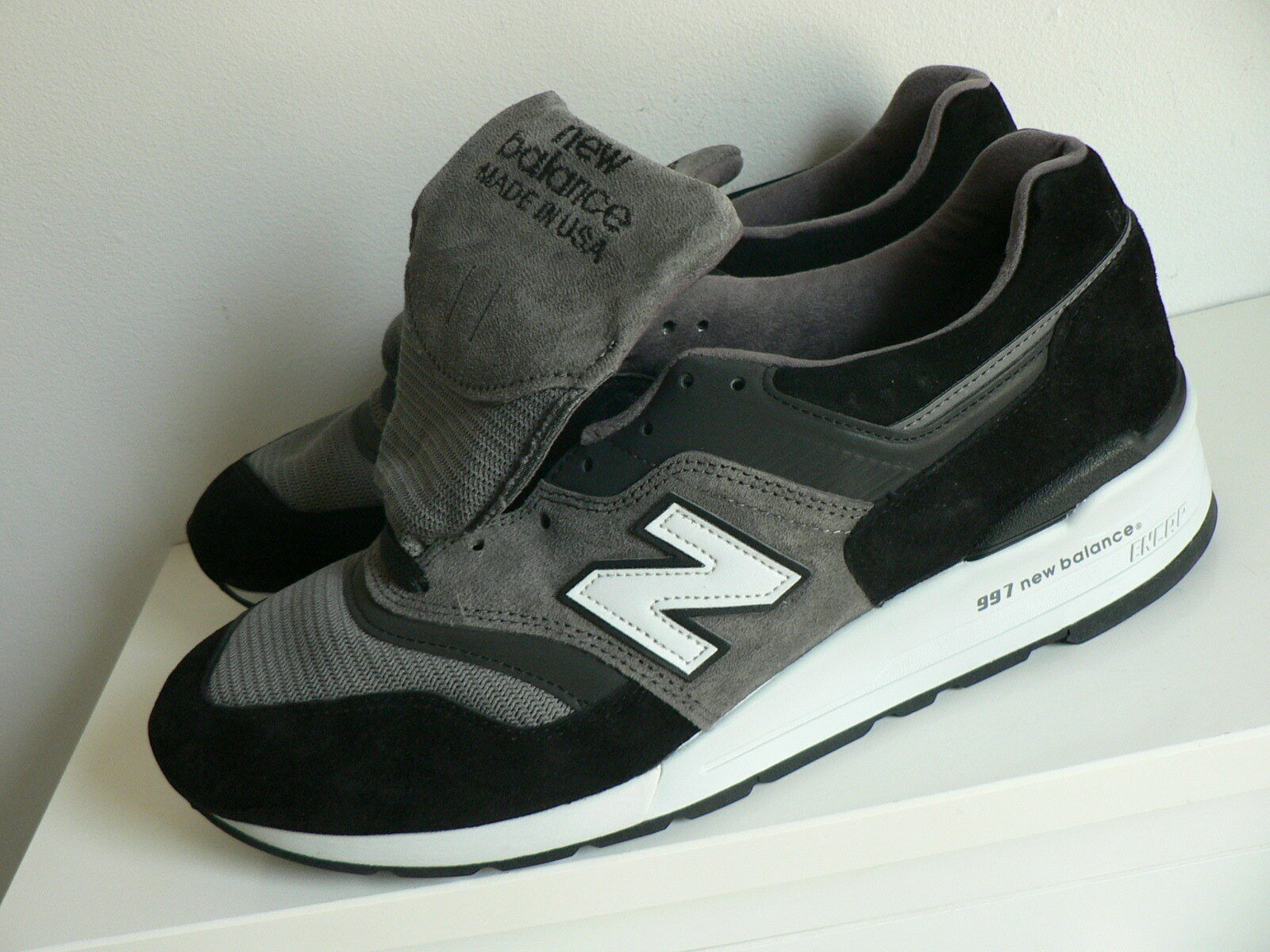 New Balance M997CUR in Black/Grey Size 12 US