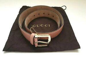Gucci-Damen-Microguccissima-Soft-Pink-Guertel-281548-Groesse-32