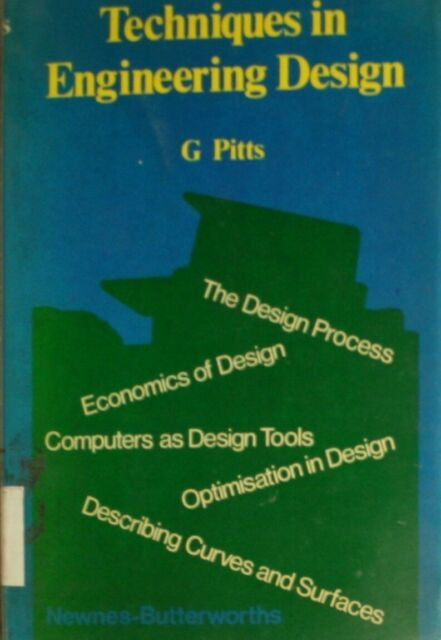 Techniques in Engineering Design, Pitts, Geoffrey, Very Good Book