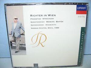 RICHTER-IN-WIEN-Sviatoslav-Richter-Vol-1-Yamaha-Ctr-1989-2-CD-Set-London-New