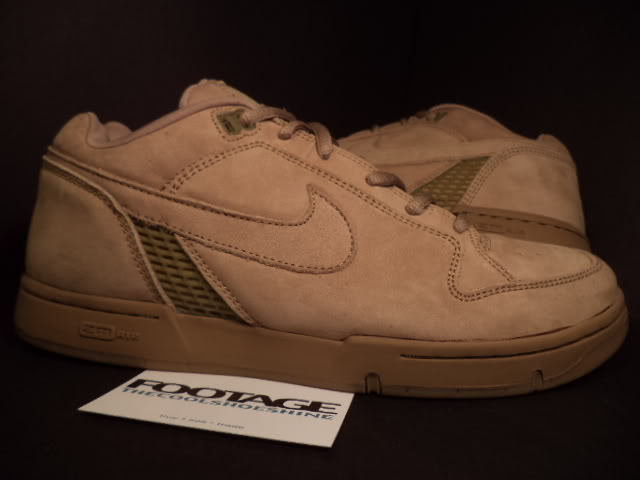 2004 Nike Dunk Zoom Air Angus SB SHALE WHEAT BROWN 307247-221 NEW 10