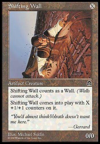 STRONGHOLD  #140 ENGLISH Magic MTG ▼▲▼ Shifting Wall Changemur