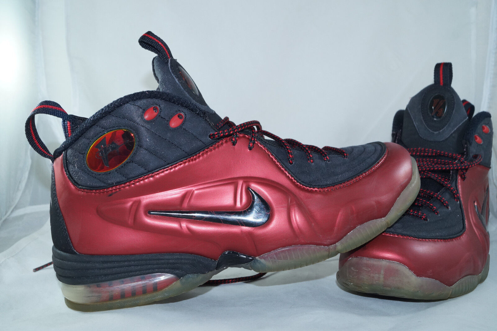 Nike Air 1 2 Cent Penny Hardaway Gr  43 (Cranberry) Hologram Foamposite