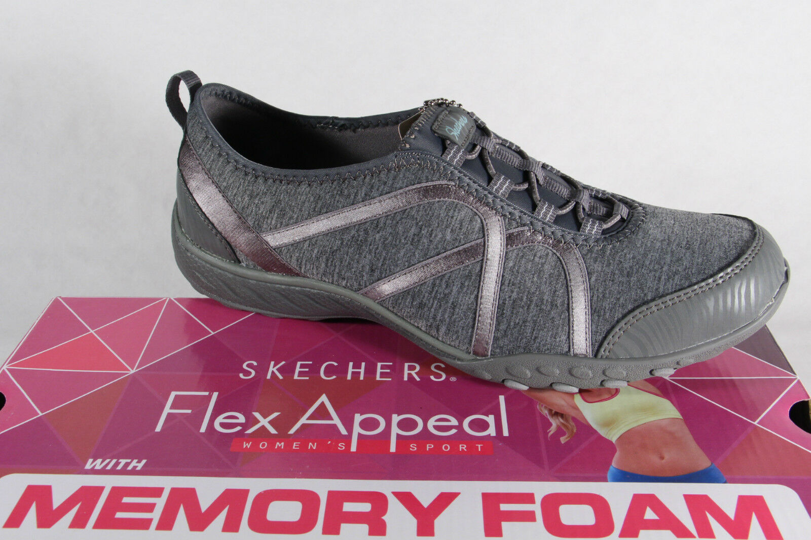 Skechers Slipper Basse Sneakers Scarpe Sportive Scarpe Basse Slipper morbido plantare NUOVO! c74079