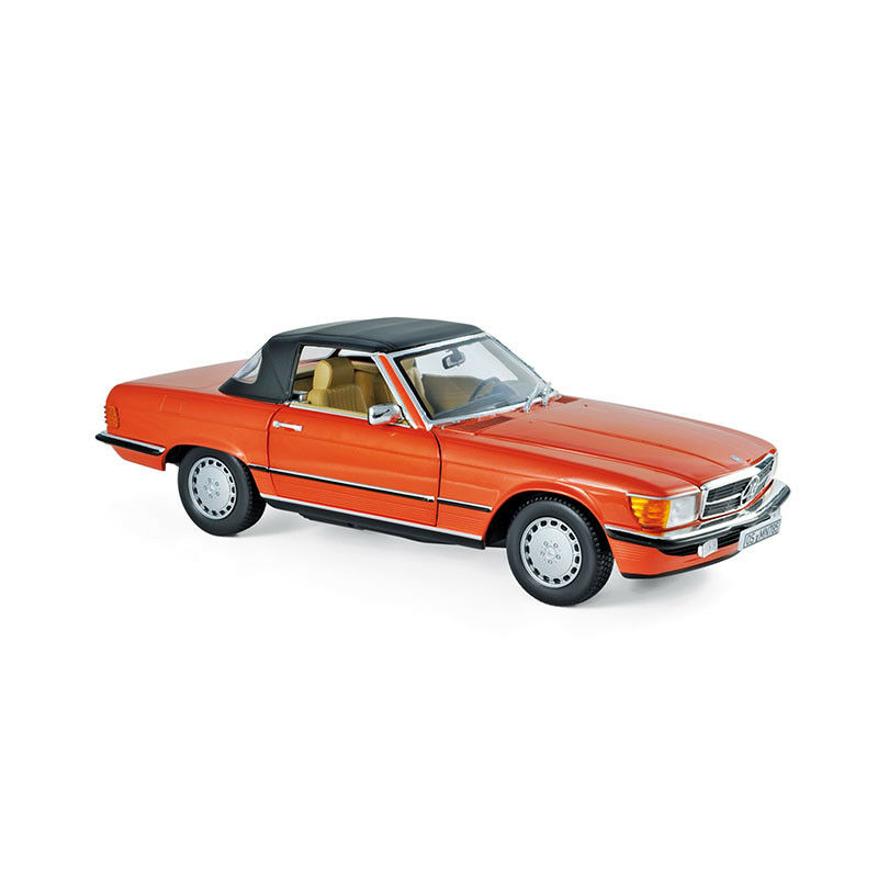 Norev 183467 Mercedes Benz 300 Sl Red 1986 Scale 1 18 Model Car New