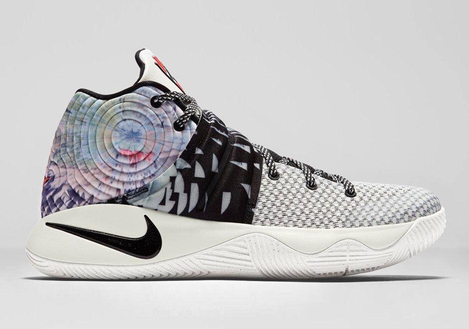 Nike Kyrie 2  Effect  Tie-Dye Multi-color 819583-901 Size 15. 1 bhm all star