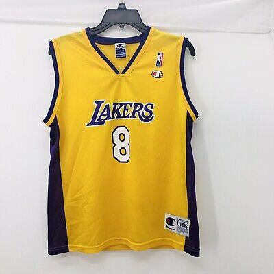 Vintage Kobe Bryant #8 Los Angeles Lakers Jersey Size L(14-16)   eBay