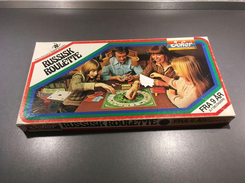 roulette brætspil