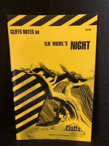 Cliffs-Notes-on-Wiesel-039-s-NIGHT-Brand-NEW