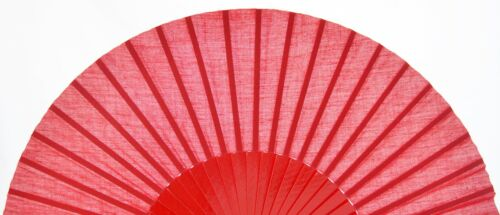 XXL Rouge Flamenco pericón Dance Fan Guajira EVENTAIL Fächer Ventagli Abanico