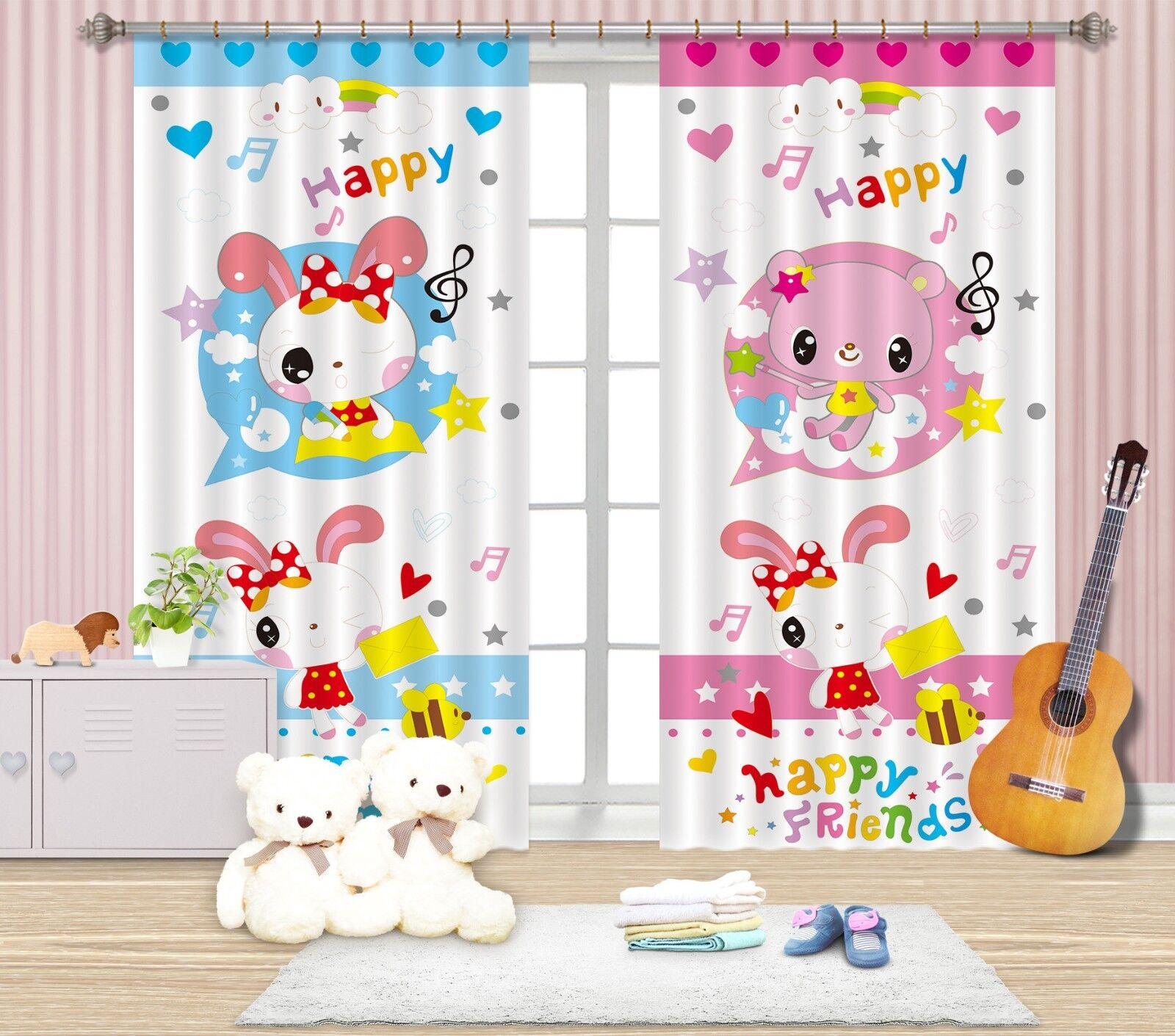 3d caricatura bloqueo 688 cortina de fotografía presión cortinas cortina de tela de ventana