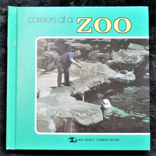 Careers at a Zoo by Mark Lerner HC c1980 Veterinarian, Curator, Horticulturist +