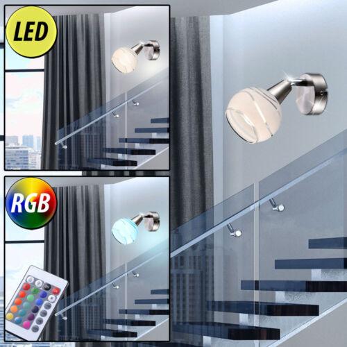 LED Decken-Lampe Wand Beleuchtung Spot Strahler Leuchten RGB mit Fernbedienung