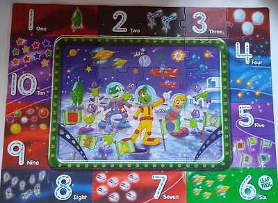 Leap Frog floor puzzle Leapfrog Math Mission Write-On floor puzzle 36 Pc Numbers