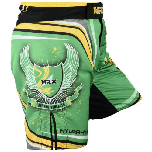 Muay Thai Shorts Grappling Fight Kick Boxing Mens MMA Martial Arts UFC Trunks