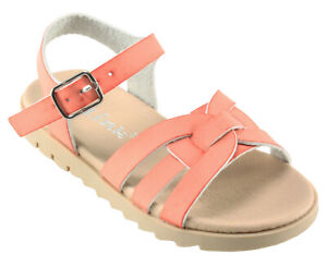 6deea8398 Details about Forever Girls  Olivia-01K Little Kid Big Kid Adjustable Ankle  strap Flat Sandals