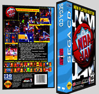 Nba Jam - Sega Cd Reproduction Art Dvd Case No Game