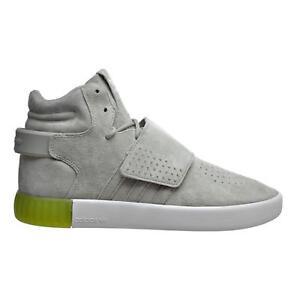 watch footwear designer fashion Details about Mens ADIDAS TUBULAR INVADER STRAP Sesame Suede Hi Top  Trainers BB5040