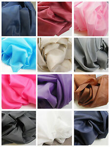 1-METRE-DRESS-LINING-MATERIAL-12-COLOURS-150CM-WIDE-SEWING-HABERDASHERY