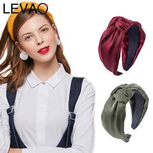Women-039-s-Cross-Knot-Hairband-Wide-Alice-Band-Headband-Headwear-Hair-Accessories