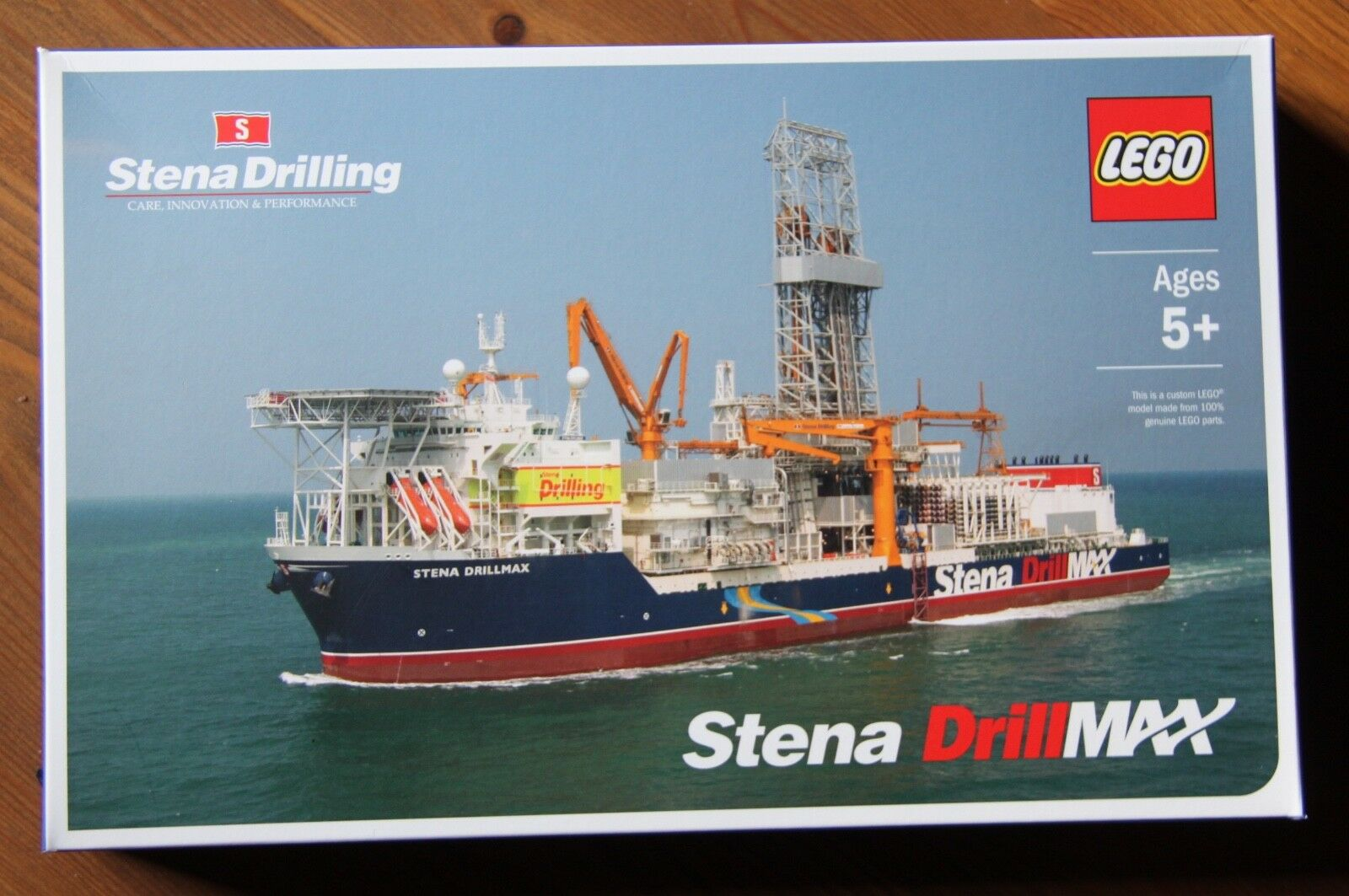 Lego Stena Drilling Drill Max Ship Certified Professional Limited Edition
