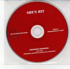 (DV345) She's Hit, Shimmer Shimmer - DJ CD