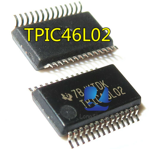 1PCS TPIC46L02DBR 6-CHANNEL SERIAL AND PARALLEL LOW-SIDE PRE-FET DRIVER new