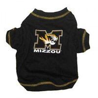 Missouri Mizzou Ncaa Premium Dog Pet Tee Shirt (all Sizes)