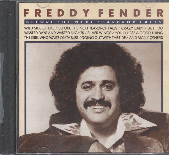 Freddy Fender - before next teadrop falls cd