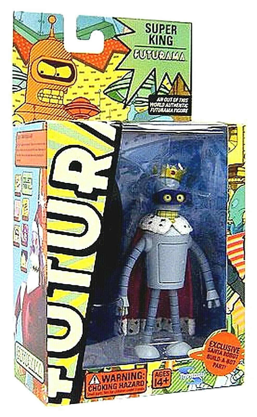 Futurama SUPER KING BENDER  figura 15cm PVC Toynami