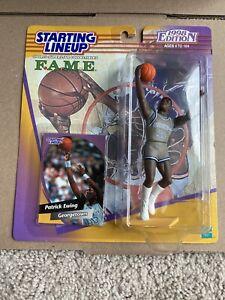 1998 FAME College Starting Lineup Patrick Ewing Georgetown New York Knicks