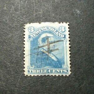 Newfoundland-Stamp-Scott-49-Queen-Victoria-1880-96-L317