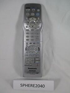 Details about Panasonic Tower DVD / VCR / Cable Program Director MB  Universal Remote Control