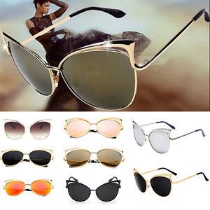 Hot-Men-Women-Retro-Vintage-Oversized-Cat-Eye-Sunglasses-Outdoor-Sports-Eyewear