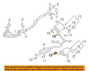 Wondrous Subaru Oem 09 13 Forester 2 5L H4 Exhaust Muffler Pipe Gasket Wiring 101 Ferenstreekradiomeanderfmnl