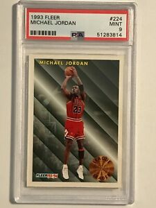 1993 Fleer Michael Jordan #224 PSA 9 Mint