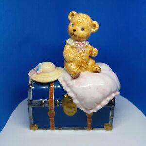 "Vintage San Francisco Music Box "" My Favorite Things"" Teddy Bear"