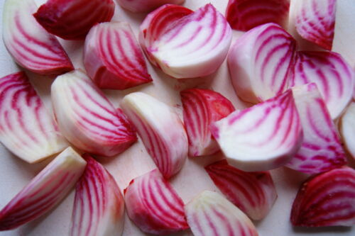 V0539 Beetroot Chioggia x200 Bulk seeds Heirloom Non-GMO Stripy Unusual