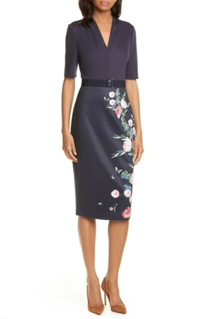 Ted Baker Norraa Fantasia Body-Con Dress Ted Baker