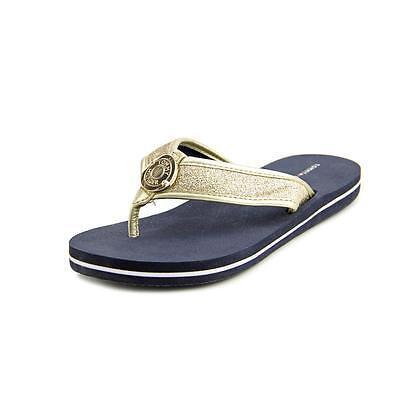 Tommy Hilfiger Carma   Open Toe Canvas  Flip Flop Sandal