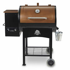 Pit Boss Pellet Grill Flame Broiler Wood Fired 700 Sq In Classic LED Meat Probe