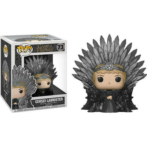 Game of Thrones Cersei on Iron Throne Pop! Deluxe FREE Global Shipping