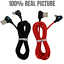 3Pack-3Ft-6Ft-90-Degree-Fast-USB-Type-C-Samsung-Charger-Charging-Cable-Cord-Lot miniature 7