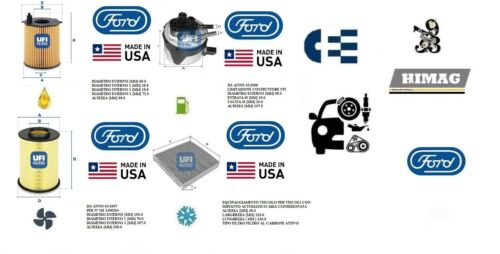 Servicekit Filter UFI Ford Focus II 1.6 TDCI
