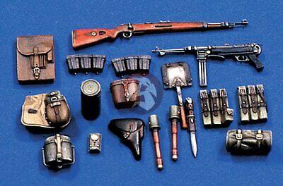 448 German Infantry Equipment Set No.1 WWII 1//16 Resin Model Verlinden 120mm