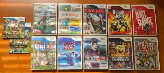 Lot of 11 Nintendo Wii  Games