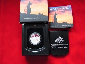 AUSTRALIA-2010-1-Kangaroo-at-Sunset-1-5oz-Silver-Proof-Cased