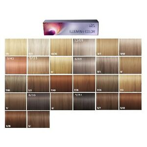 Wella Illumina Color Permanent Creme Hair Color 60ml Tube